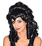 halloweenia–Perruque Femme Vampire aristocrates–Halloween Boucles Cheveux De Sorcière, plusieurs couleurs