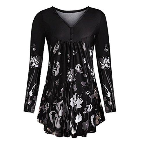 ESAILQ Damen in Trend-Farben aus 100% Baumwolle, Auch -