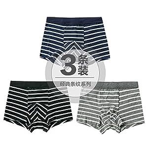 ZHFC-3 pack baumwolle männer unterwäsche taille streifen vier japanischen jugendlichen mode unterwäsche boxershorts winkel kopf