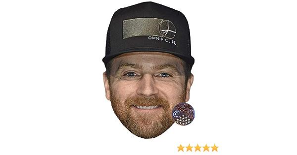Kip Moore Hat Maske aus Karton