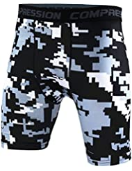 Short Jogging - Vetement Cyclisme - Cuissard De Compression Homm