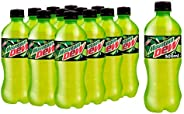 Mountain Dew, Carbonated Soft Drink, Plastic Bottle, 500ml x 12