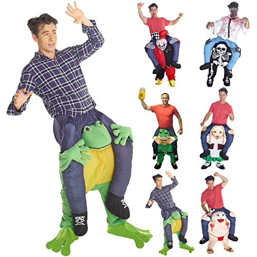 (Morph MCPBF - Frosch Huckepack Kostüm - Uni Größe)