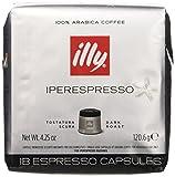 illy Caffè Iperespresso, Caffè Espresso In Capsule, Tostatura Scura - 6 confezioni da 18 capsule (totale 108 Capsule)