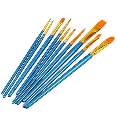 sztara-round-pointed-tip-brush-set-nylon-hair-acrylic-watercolor-oil-face-painting-detail-paint-10-p