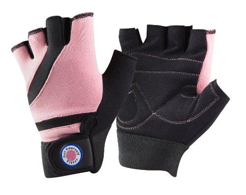 GetYourselfFitter Amara, Fitness handschuhe, CrossTraining, Rudern-, Gewichtheber Damenhandschuhe S - Pink