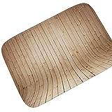 Knbob Badvorleger Fussbodenheizung Geeignet Hellblaues Vertikal Verwittertes Holz Stil 4 Badteppich Fussbodenheizung Geeignet 60X40Cm
