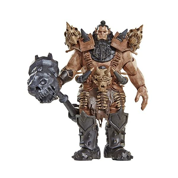 Warcraft 6 Blackhand Action Figure With Accessory by Warcraft 1