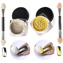 VALUE MAKERS Specchio Powder-Glitter Polveri punta Nails