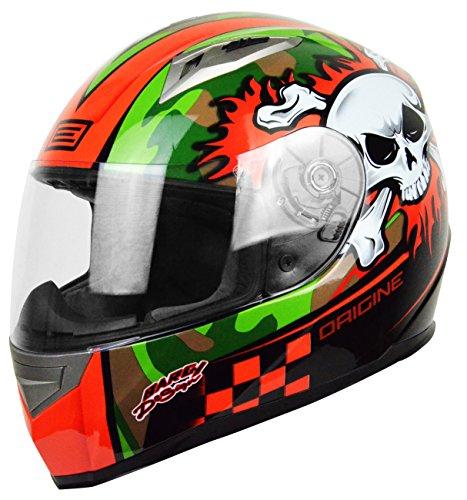 Origine Helmets Tonale Combat, Grigio Arancio, M