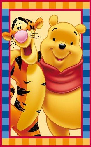 Kinder Teppich Disney Winnie the Pooh und Tiger 50x80 cm