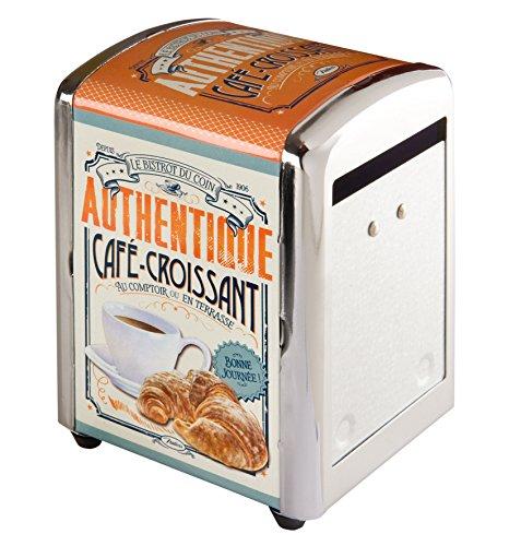 Natives 411270-Dispensador de servilletas Metal 9,9x 5x 7cm