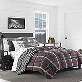 Eddie Bauer Whistler Ridge Comforter Set, Twin, Dark Grey