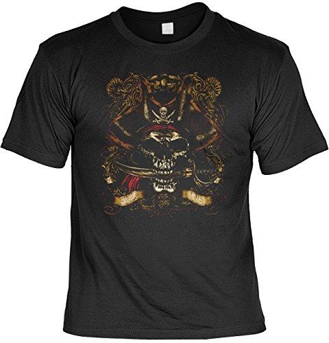 Art & Detail Shirt Piraten Totenkopf Tshirt Bonehead Fb schwarz Größe 4XL