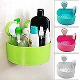vpstores Suction Corner Rack Shelf Organizer Caddy Storage Bathroom Shower Wall Basket