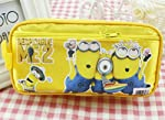 This is a very useful pouch featuring the cute and adorable minion characters which is a very useful item to store all your valuable stationery items at one place.Made of non harmful material. Very spacious and can fit anywhere without occupying much...