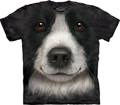 maglietta-unisex-muso-di-border-collie-animals-bambino-medium-the-mountain