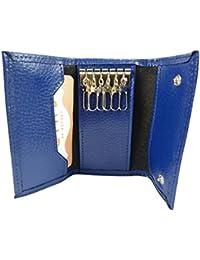 6e5766ad76 Amazon.it: portachiavi pelle - Blu: Scarpe e borse