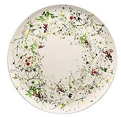 Rosenthal Brillance Wildblumen-Teller, Porzellan, Mehrfarbig, 32 cm