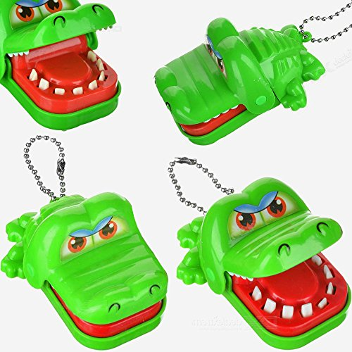 Preisvergleich Produktbild German Trendseller® - Krokodil Zähne Zieh Kinderspiel  Mitgebsel  Kindergeburtstag Kinderspiel  Vorsicht Bissig !!!