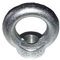 Ringmutter M20 DIN 582 verzinkt - Belastung 1200 daN - MENGE wählbar, Menge:2 STÜCK