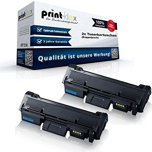 2x Kompatible Tonerkartuschen für Samsung Xpress M2835DW Premium Line Xpress M2875FD Doppelpack MLT-D116L/ELS 116L MLTD116LELS MLT D116 MLT-D116LELS MLT 116 S/ELS