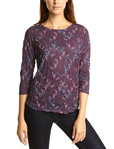 Street One Shirt Manches Longues Femme Violett (Master Wine 31018)