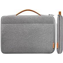 """Inateck 13-13,3 pulgadas Sleeve Funda Ultrabook funda, especialmente para MacBook Pro Retina, MacBook Air, 13"""" MacBook Pro 2016/2017, Surface Pro1/2/3/4, Surface Pro 2017,Surface Latop 2017. gris oscuro."""