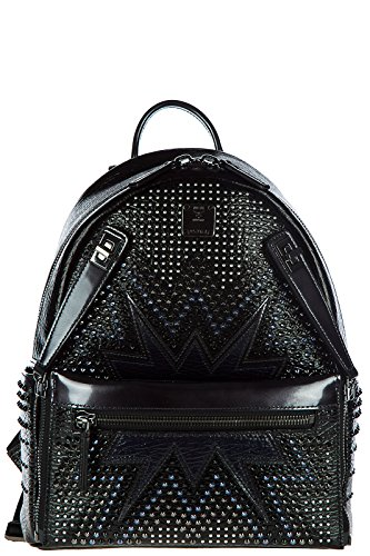 Imagen de mcm  bolso de mujer en piel nuevo stark cyber negro