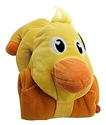 Cozy Palz Fleece Blanket + Snuggly Plush Ducky