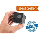Mini Portable Projector / WiFi Projector / Mobile Projector / Connectivity With Both Android & IOS Devices / 90 Inch Display Size / SD Card Slot Available Easy Handling From Merlin Digital