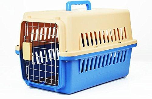 KKZLL Haustier Airbox für Hunde und Katzen-Box Flugzeug Tragetaschen für Hunde Reisen mit Heimtieren Käfig