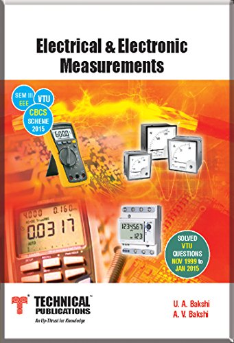 Electrical & Electronic Measurements for VTU ( Sem-III EEE CBCS Scheme 2015...