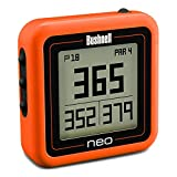 Bushnell Unisex Compact Neo Ghost Preloaded Worldwide Mapping Golf Gps, Orange