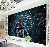 Vandelkt Araignée Papier Peint Art Mural Papier Peint Super Héros Papier Peint Décor De La Chambre Canapé Fond 3X2M