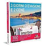 Smartbox - 3 giorni d'evasione e 2 cene Cofanetto Regalo Soggiorni Gastronomici 2 notti con colazione e 2 cene per 2 persone