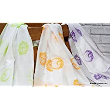Tura Turi Malmal Aasman Muslin Swaddle Cloth (Multicolour) - Set of 3