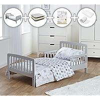 Kinder Valley Grey Toddler Bed Bundle 7 Piece Safari Friends