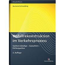 Suchergebnis auf Amazon.de für: Unfallrekonstruktion: Bücher