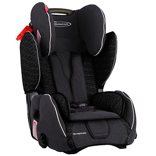 storchenmuhle-61011121466-silla-de-coche-midnight-grupos-ece-1-2-3-color-negro