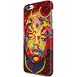 Notorious Big Biggie Smalls King de Nueva York rígida para iPhone 6, 6s funda de plástico