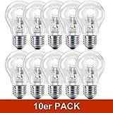 10 X Philips Eco Classic E27 42W = 55W 2800K Warmweiss 630lm Halogen Leuchtmittel Glühlampe
