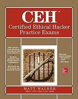 CEH Certified Ethical Hacker Practice Exams par [Walker, Matt]