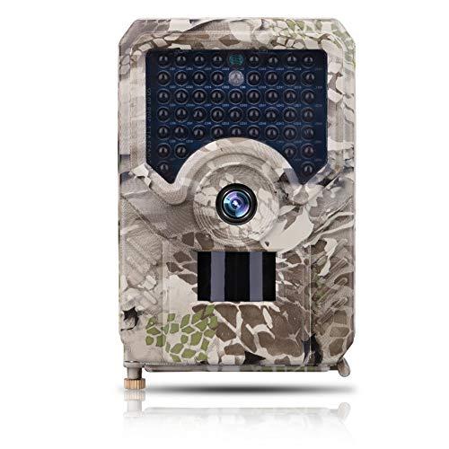 Balai PR200 Rückfahrkamera, 1080P HD IR LED-Jagdkamera, wasserdichte Wildkamera mit Nachtsicht für Fotofallen, die Bewegungen von Wildtieren untersuchen