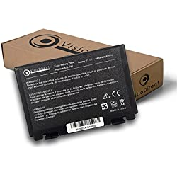 Visiodirect Batterie Compatible ASUS X70a 4400mAh 11.1V