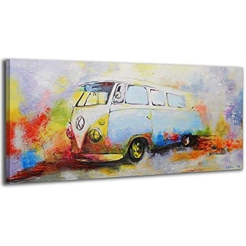 100% LABOR A MANO + certificado / Nostalgia / 115x50 cm / El cuadro dibujado con pinturas acrílicas / cuadros sobre el lienzo con bastidor de madera / cuadro dibujado a mano / montaje cómodo sobre la pared / Arte contemporáneo