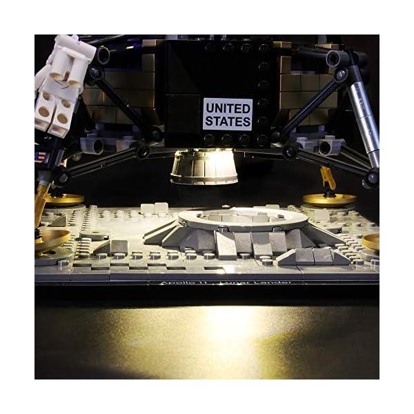 LIGHTAILING Set di Luci per (Creator NASA Apollo 11) Modello da Costruire - Kit Luce LED Compatibile con Lego 10266 (Non… 4 spesavip