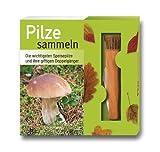 Pilze sammeln-Set: Die wichtigsten Speisepilze und ihre giftigen Doppelgänger. Buch und Pilzmesser