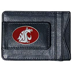 NCAA Washington State Cougars Cash and Card Holder