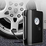 Tormeti Heavy Duty Metal Electric Car Air Compressor Pump Portable Tire Tyre Inflator,Cooper